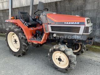 Yanmar F165D japán kistraktor (1)