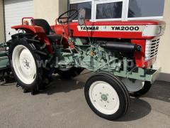 Yanmar YM2000 - Japán Kistraktorok -