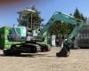 Yanmar B27-2 mini excavator / árokásó / markoló (2)