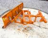 Tolólap 140-200cm-es, targoncához, Komondor STLR-140/targ (3)