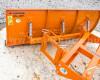 Tolólap 140-200cm-es, targoncához, Komondor STLR-140/targ (5)