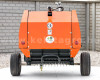 Körbálázó  japán kistraktorokhoz, 50x70cm, Komondor RKB-850 (4)