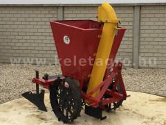 Burgonya ültető 1 soros, japán kistraktorokhoz, lengyel - Munkagépek - Palántázók, ültetők, vetőgépek