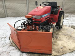 Tolólap 150cm-es, hóeke japán kistraktorokhoz, Komondor SHE-150 - Munkagépek - Tolólapok