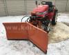 Tolólap 150cm-es, hóeke japán kistraktorokhoz, Komondor SHE-150 (4)