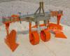 Szőlőművelő eke, 2 fejes, állítható, 16-23LE japán kistraktorokhoz, nyírócsapos, Komondor SZE-2A (2)