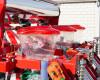 Vetőgép, 3 soros, átlátszó magtartállyal (kistraktorhoz) AKCIÓS ÁR! (11)