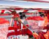 Vetőgép, 3 soros, átlátszó magtartállyal (kistraktorhoz) AKCIÓS ÁR! (14)