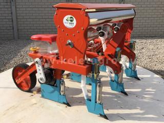 Vetőgép, 3 soros, átlátszó magtartállyal (kistraktorhoz) (1)