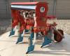 Vetőgép, 3 soros, átlátszó magtartállyal (kistraktorhoz) (7)