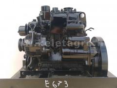 Dízelmotor Shibaura E673 - Japán Kistraktorok -