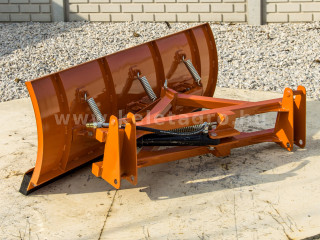 tolólap 140 cm-es, homlokrakodóhoz, Komondor STLR-140/FL (1)