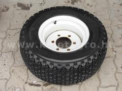 traktor gumi 24 x 8,5 -12  fűmintás, felnivel - Japán Kistraktorok -