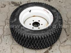 traktor gumi 22 x 8,50 -12  fűmintás, felnivel - Japán Kistraktorok -
