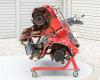 Talajmaró 340cm-es, kihajtható, Niplo WGS3405B, használt (2)