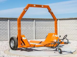Bálaszállító japán kistraktorokhoz, hidraulikus emeléssel (1)