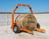 Bálaszállító japán kistraktorokhoz, hidraulikus emeléssel (15)