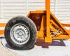 Bálaszállító japán kistraktorokhoz, hidraulikus emeléssel (22)