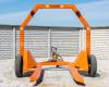Bálaszállító japán kistraktorokhoz, hidraulikus emeléssel (4)