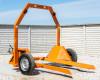 Bálaszállító japán kistraktorokhoz, hidraulikus emeléssel (5)