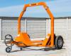 Bálaszállító japán kistraktorokhoz, hidraulikus emeléssel (7)