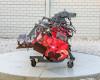 Talajmaró 380cm-es, kihajtható, Niplo HVS-3800BR, használt (2)