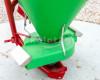 Műtrágyaszóró 500 literes (műanyag tartályos), sorszóró adapterrel (10)