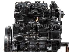 Dízelmotor Iseki E3CE - Japán Kistraktorok -