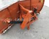 Tolólap 150cm-es, fronthidraulikára, gyorskapcsoló szerkezetre, akár 3 pontos szerszámfüggesztésre, Komondor SHE-150/F (10)