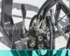 Homlokrakodó Yanmar RS27D típusú kistraktorokhoz, Komondor MHR-100RS27 (4)