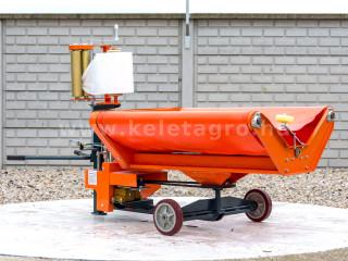 Körbála csomagoló Komondor RKB850, RKB870 és RKB1070 bálázókhoz (1)
