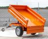 Pótkocsi, ráfutófékkel, 3 irányba billenthető, japán kistraktorokhoz, Komondor  SPK-1500/RF (11)