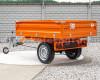 Pótkocsi, ráfutófékkel, 3 irányba billenthető, japán kistraktorokhoz, Komondor  SPK-1500/RF (5)