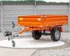 Pótkocsi, ráfutófékkel, 3 irányba billenthető, japán kistraktorokhoz, Komondor  SPK-1500/RF (7)