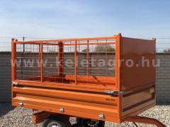 Rácsos oldalfal magasító készlet Komondor SPK pótkocsikhoz - Munkagépek - Pótkocsik