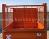 Rácsos oldalfal magasító készlet Komondor SPK pótkocsikhoz (4)