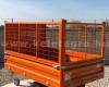 Rácsos oldalfal magasító készlet Komondor SPK pótkocsikhoz (5)