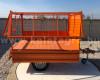 Rácsos oldalfal magasító készlet Komondor SPK pótkocsikhoz (9)