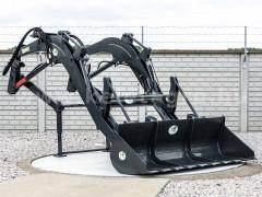 Homlokrakodó gém és kanál 50-80 LE traktorokhoz - Munkagépek -
