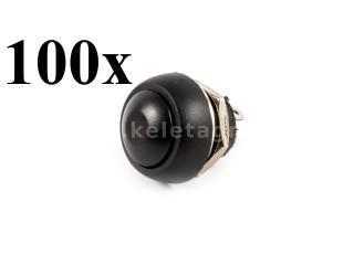 Nyomógombos kapcsoló, vízmentes, 100db-os csomag (1)