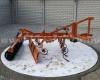 Lovaspálya megmunkáló állítható simítólappal kistraktorhoz SLMS-150 (2)