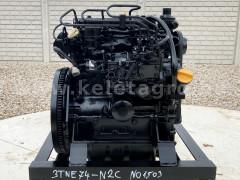 Dízelmotor Yanmar 3TNE74-N2C - NO1503 - Japán Kistraktorok -