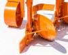 Charrue à 2 socs, pour 16-23CV micro tracteurs, Komondor SE-2 (10)