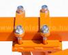 Charrue à 2 socs, pour 16-23CV micro tracteurs, Komondor SE-2 (12)