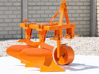 Charrue à 2 socs, pour 16-23CV micro tracteurs, Komondor SE-2 (1)
